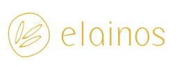 extra virgin olive oil by elainos - logo