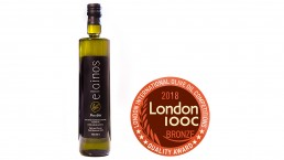 Elainos extra virgin olive oil wins the bronze medal at London IOCC quality awards